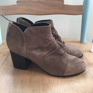 Adam Tucker by Me Too Brushed Suede Ankle    Boot